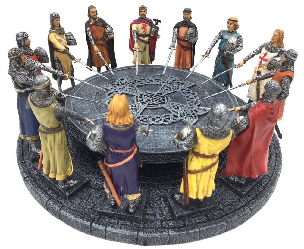 картинки с круглым столом короля артура него был