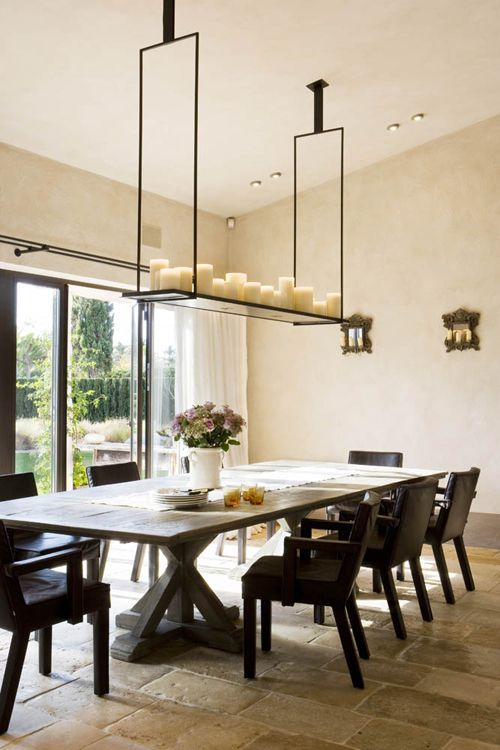 Elegant Candle Chandeliers For The Dining Room Holly hunt