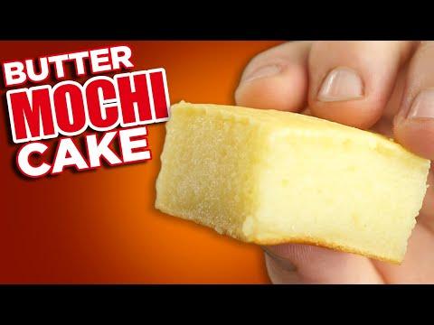 How to make Butter Mochi - Soft Chewy Hawaiian Desert recipe - YouTube #hawaiianfoodrecipes