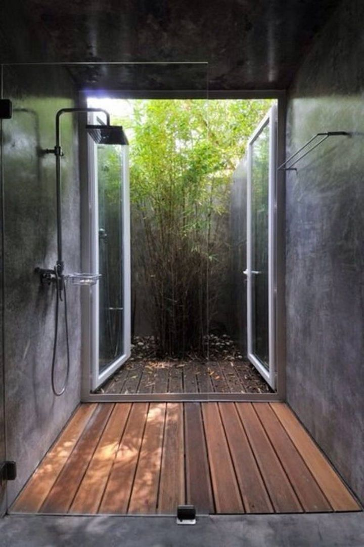 13 Beautiful Showers Throughout The World Are Spectacular Building A Container Home Outdoor