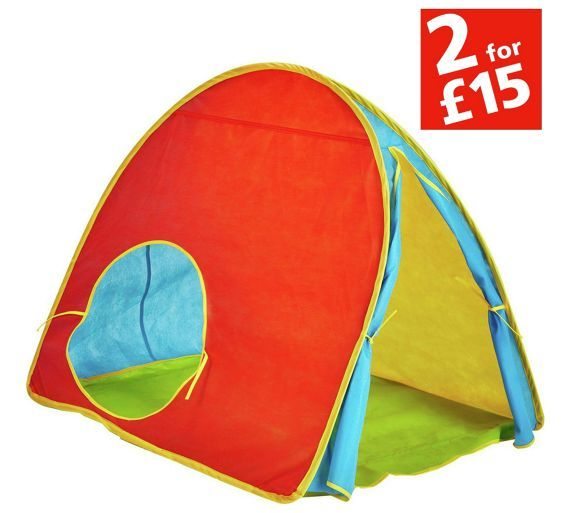 Pop Up Play Tents & Tunnels   Argos