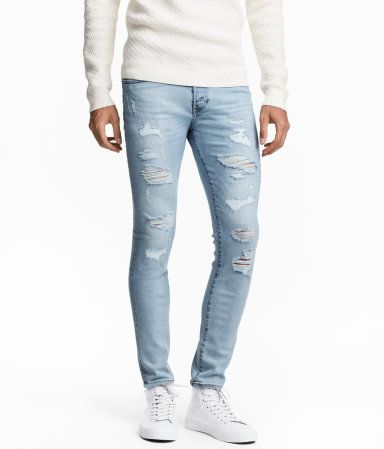 a49f9c55d1  40 size  38 Skinny Low Trashed Jeans