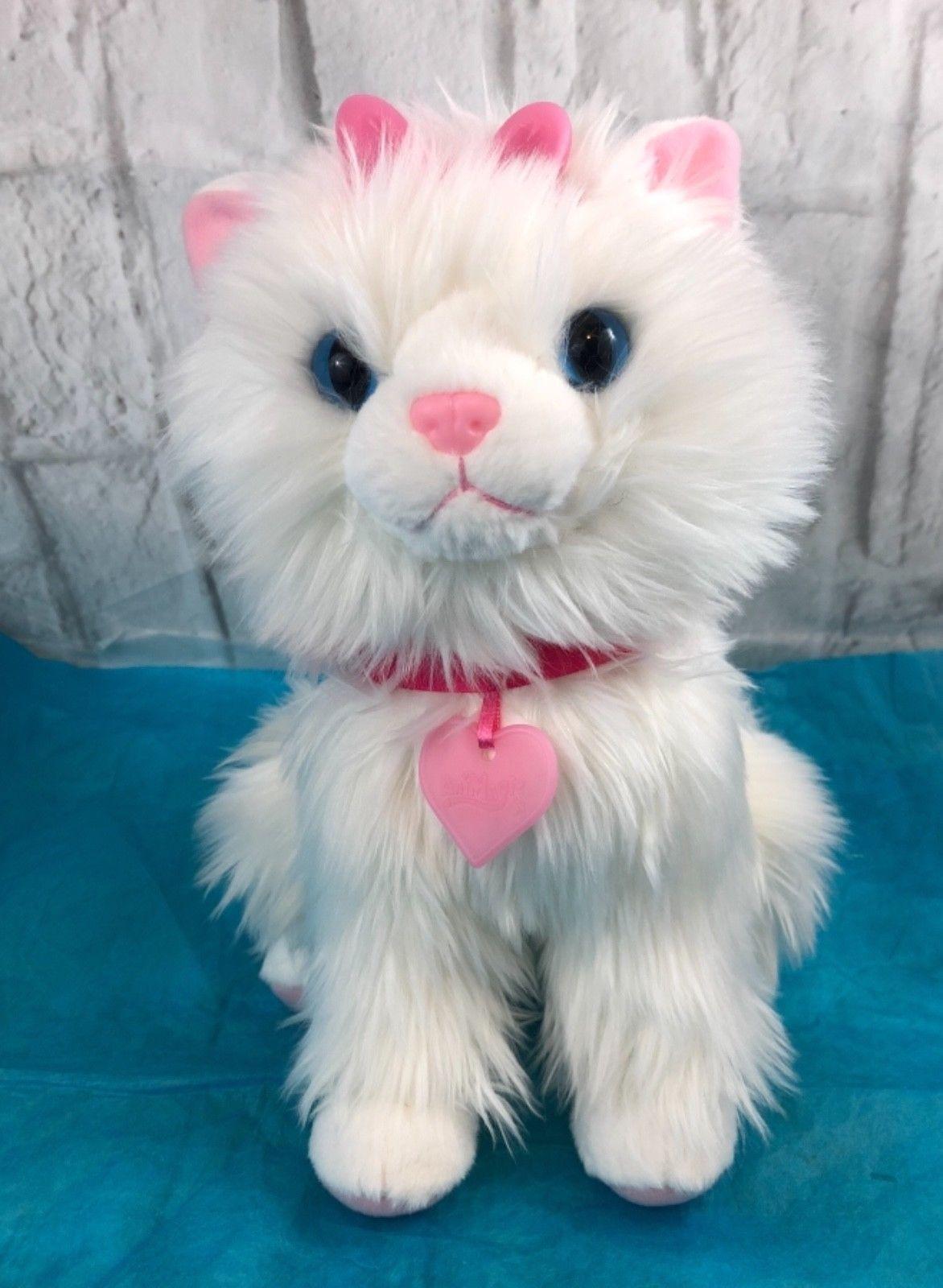 Vivid Scruffies Sparkle My Glowing Kitten Plush Animagic Kitten Gift Ebay Kittens Gifts Kitten Plush