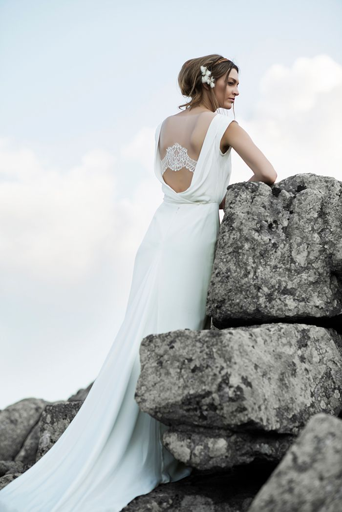 Neue Hippie #Brautmode von Anna Kara   Hochzeitskleider   Wedding ...