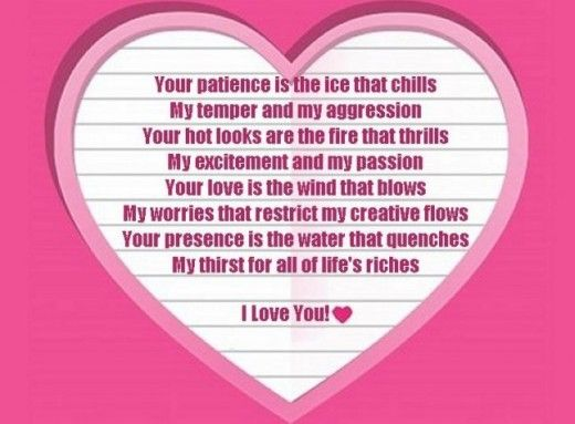 I Love You Poems for Wife: Poems for your girlfriend or wife ...