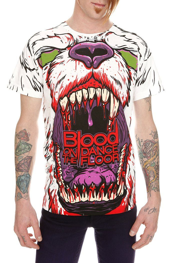 Awesome Blood On The Dance Floor Shirt Gothic Shirts Bear
