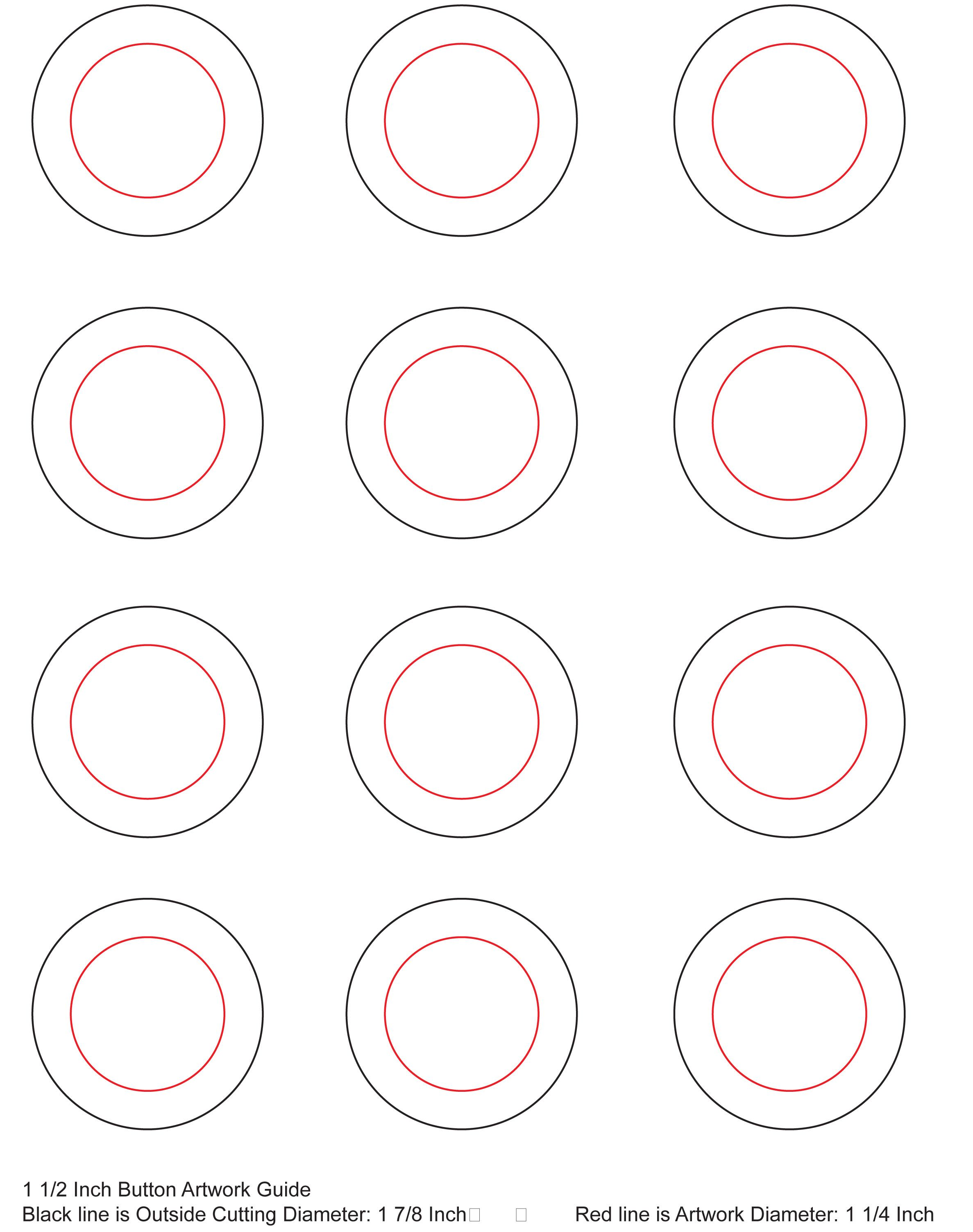 Wild image regarding free printable button templates