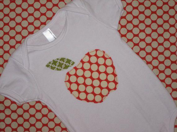 Apple of My Eye Newborn and Baby Shirt by wigglesandgiggles1, $17.00