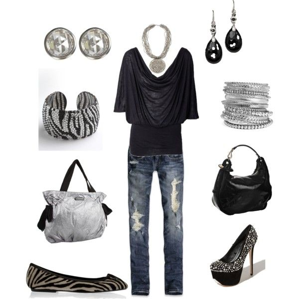 Love the look with either heels or flats:)