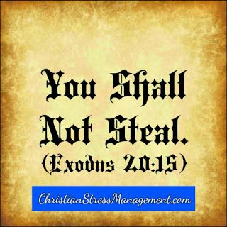 The eighth 8 commandment You shall not steal Exodus 20:15 | Bible ...