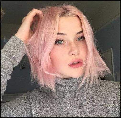 Kurze haare stylen wie pink