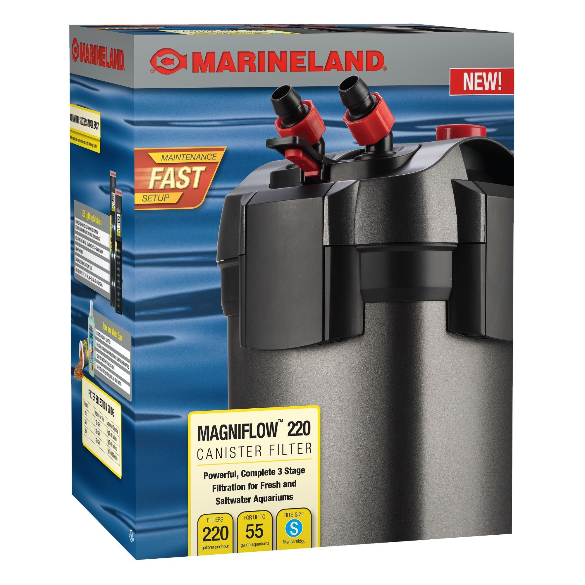 Marineland Magniflow 220 gph Canister Filter Filters
