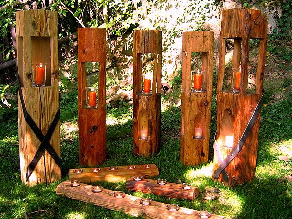 Exklusives Aus Holz Holzlaternen