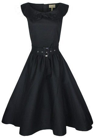 Black Vintage-Inspired Dresses
