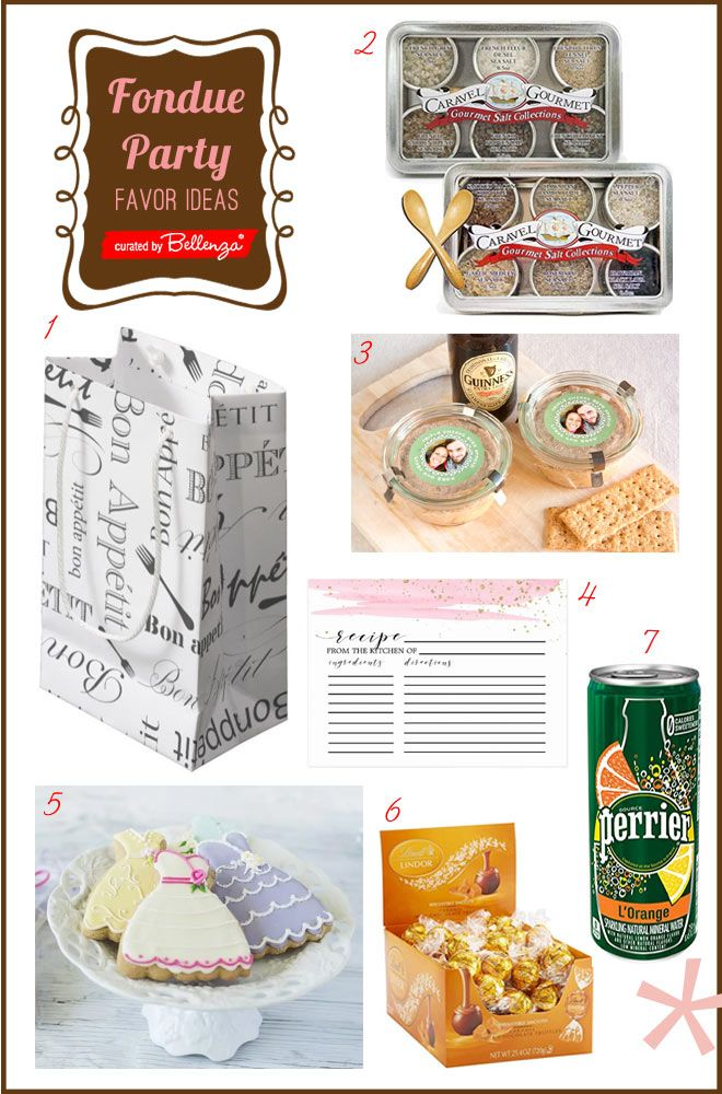 How to Plan a Fondue Bridal Shower Party #fondueparty