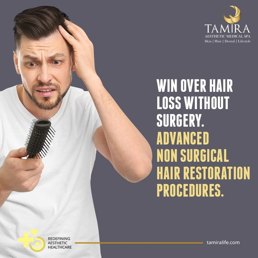 At Tamira we specialize in tailoring nonsurgical Hair