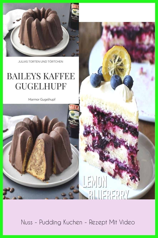 Photo of Nuss – Pudding Kuchen – Rezept Mit Video –  Baileys Kaffee Marmor Gugelhupf Einf…