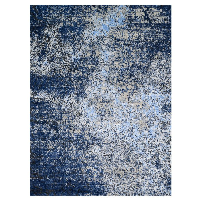 Material 100 Polypropylene Primary Color Navy Synthetic Product Type Area Rug De