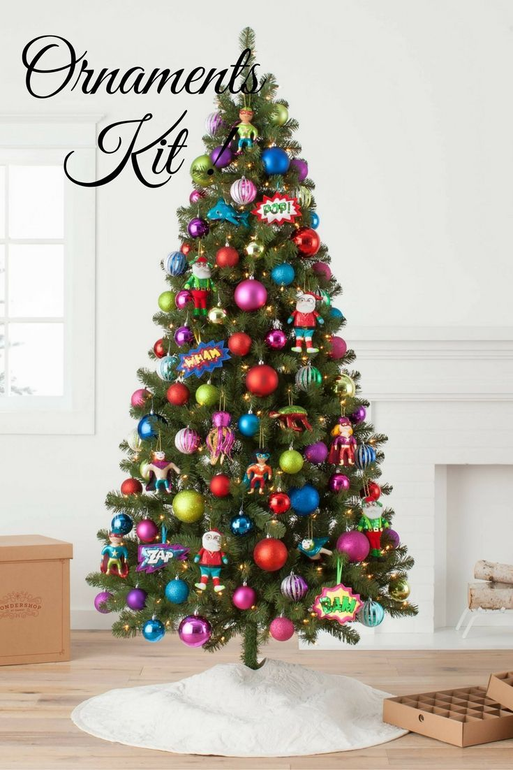 Jingle Pop Tree Ornament Kit - Wondershop™ #affiliate | Christmas ...