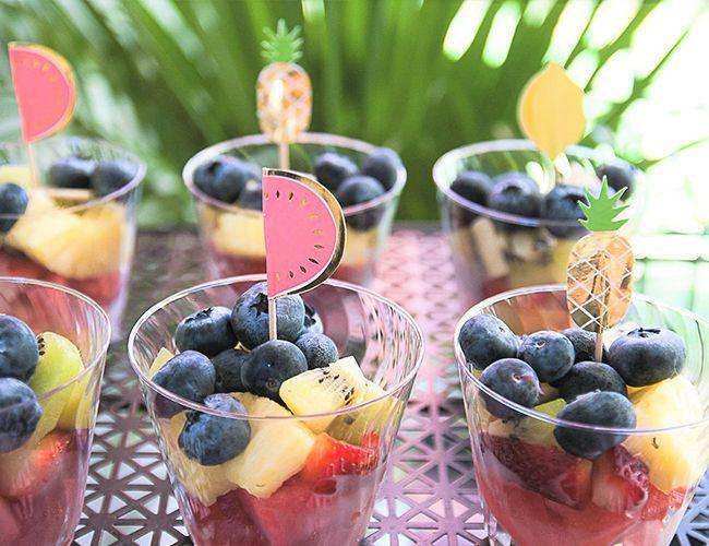 Tropical Tutti Frutti Birthday Party #tropicalbirthdayparty