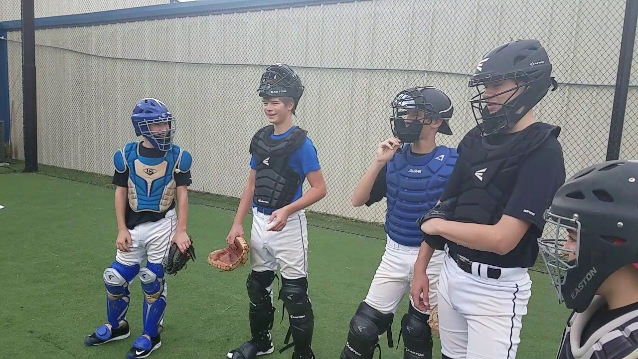 Catchers 4 Corner Drill To Improve Blocking And Leg Strength Youtube In 2020 Drill Play Baseball Baseball Hitting