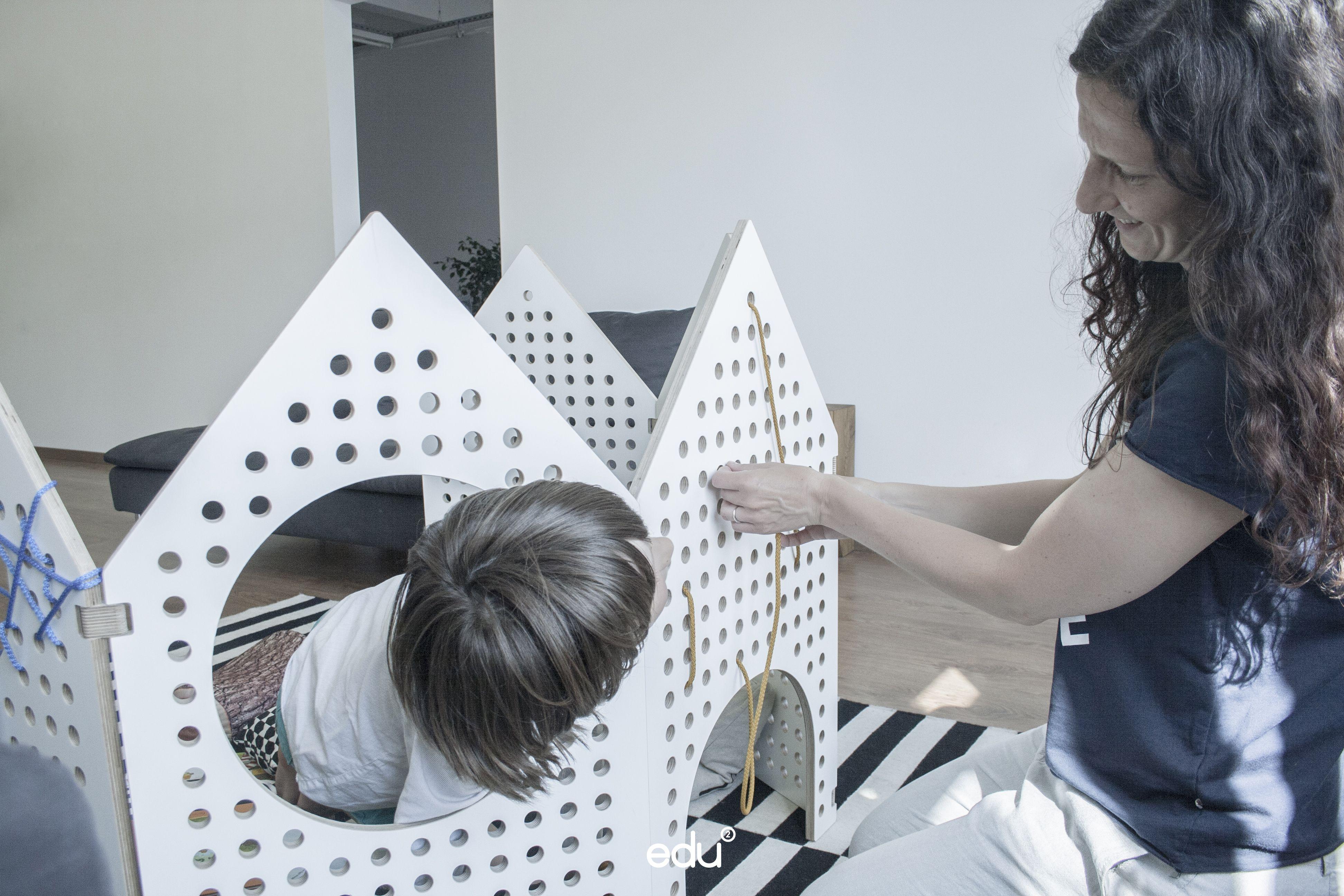 sensory play space divider// kids room decor; sensory toy