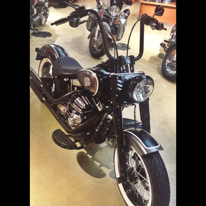 Introducing The Newest Softail Slim To Our Showroom Floor