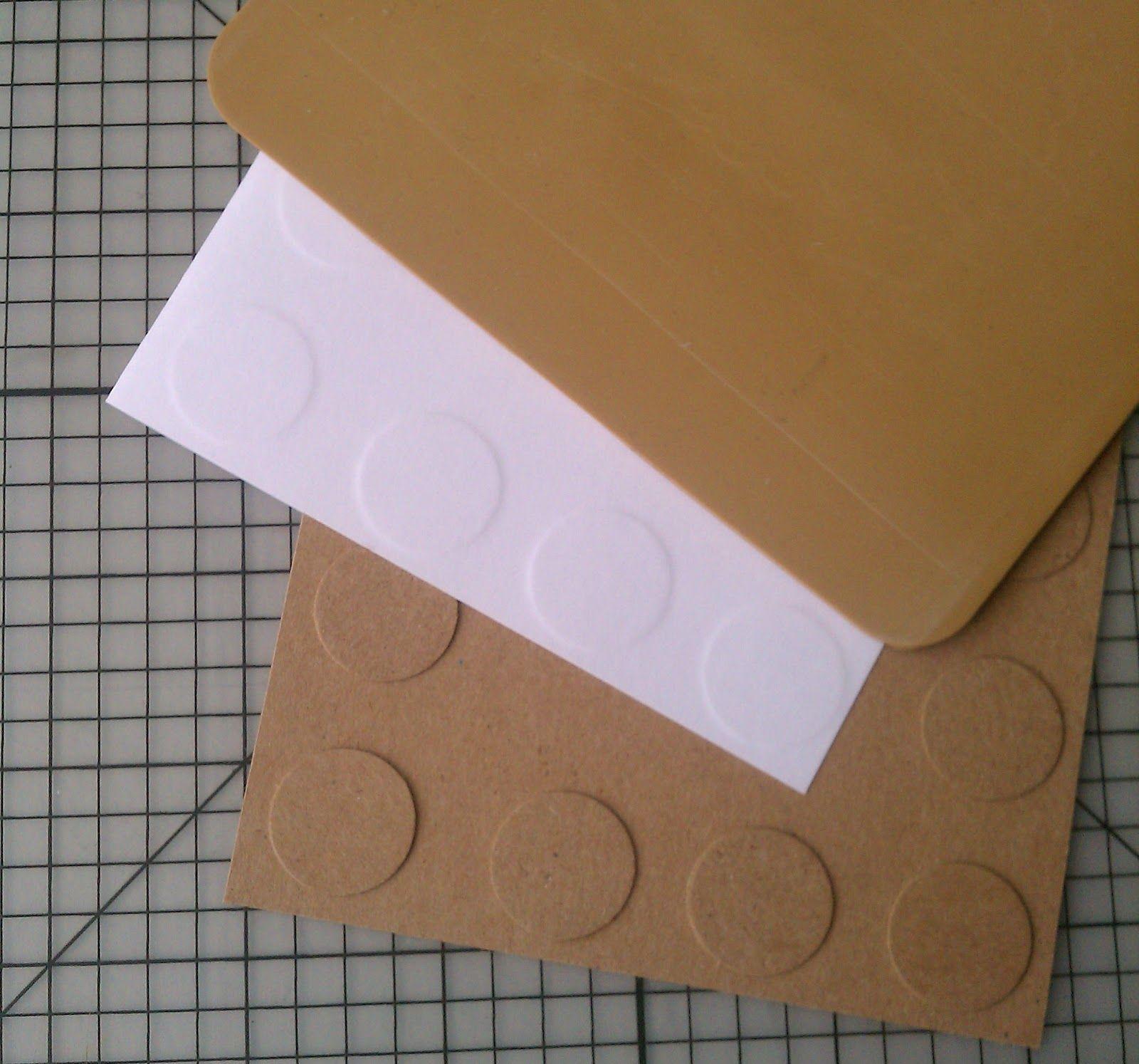 SEMLERS: Como hacer un texturador para papel