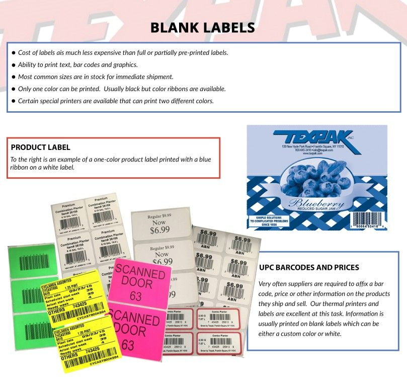 Blank Labels Product Labels Upc Barcodes And Prices Printing Labels Blank Labels Prints