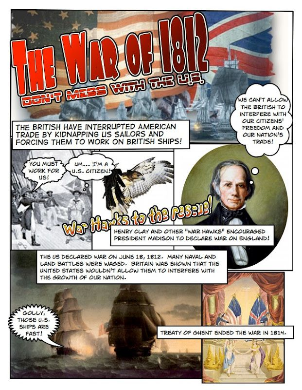Photo of Students use Comic Life to make their own history comic. I use this as my Unit 4…