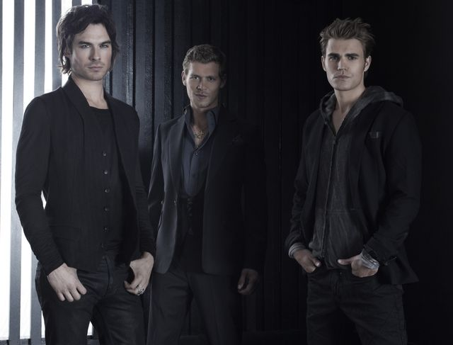 Ian Somerhalder, Joseph Morgan, and Paul Wesley....YUM