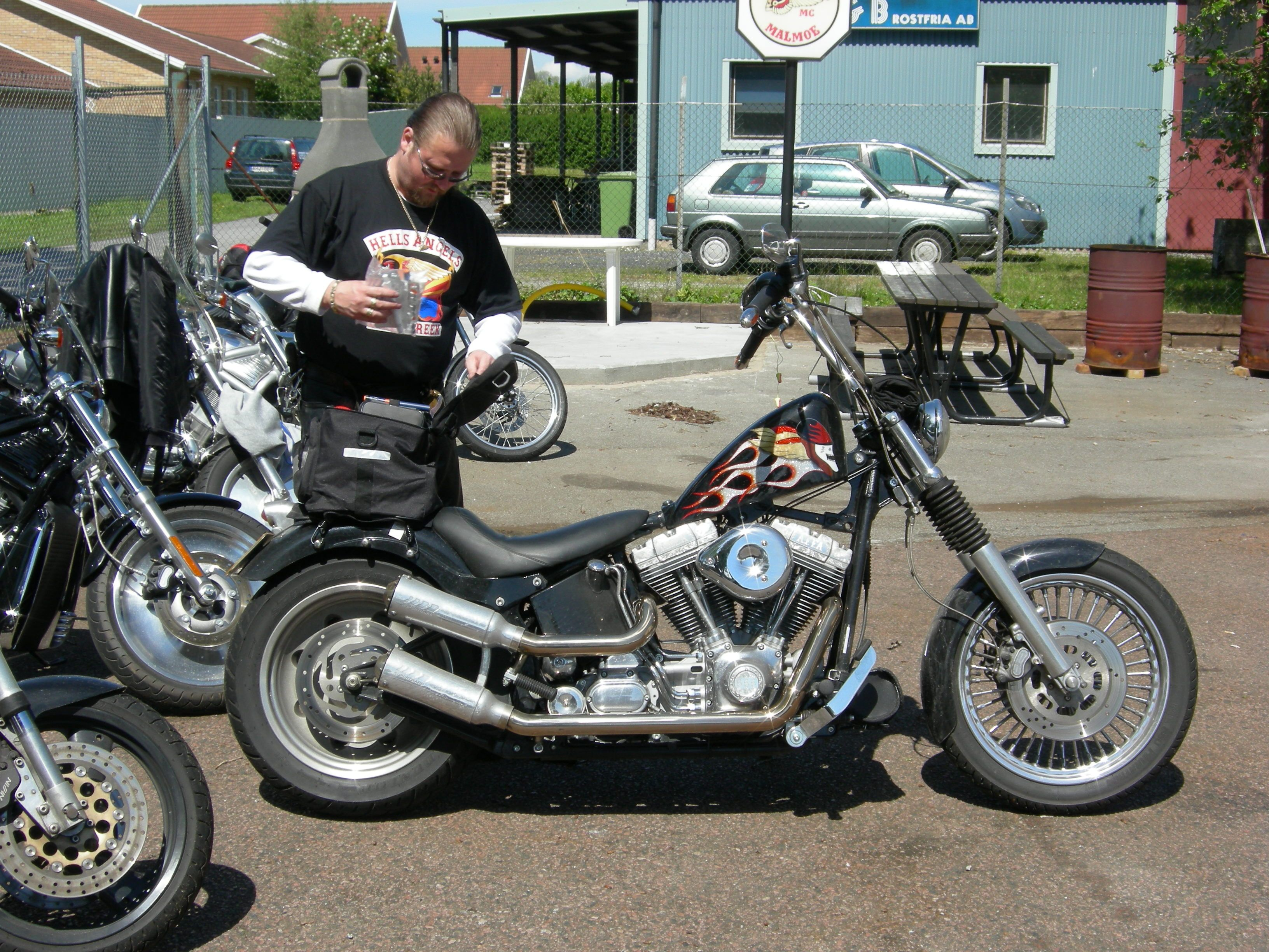 Pin by Rick Ashwood on 81 Support | Motorcycle, Hells angels