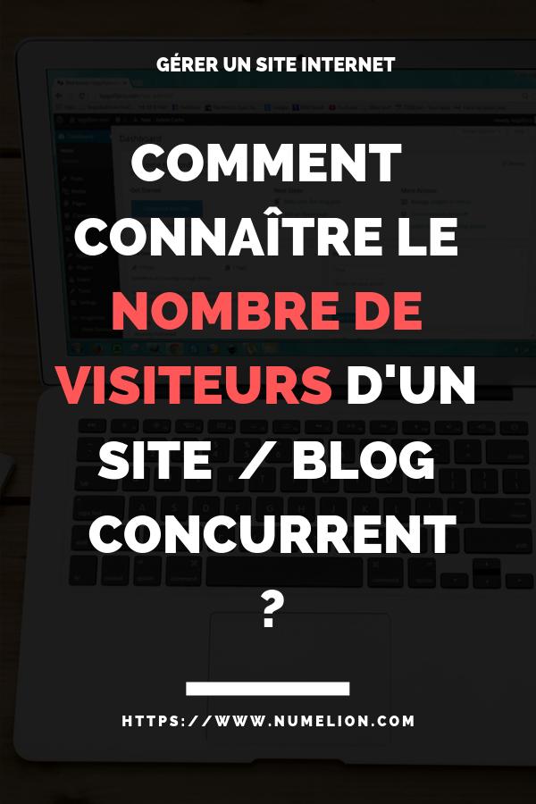 Vous Souhaitez Connaitre Le Nombre De Visiteurs D Un Site