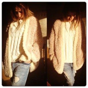 Instagram фото на lalodolidze - #lalo#sweater#for @maria_oshurkova & #boucle#cardigan#for @_tampi