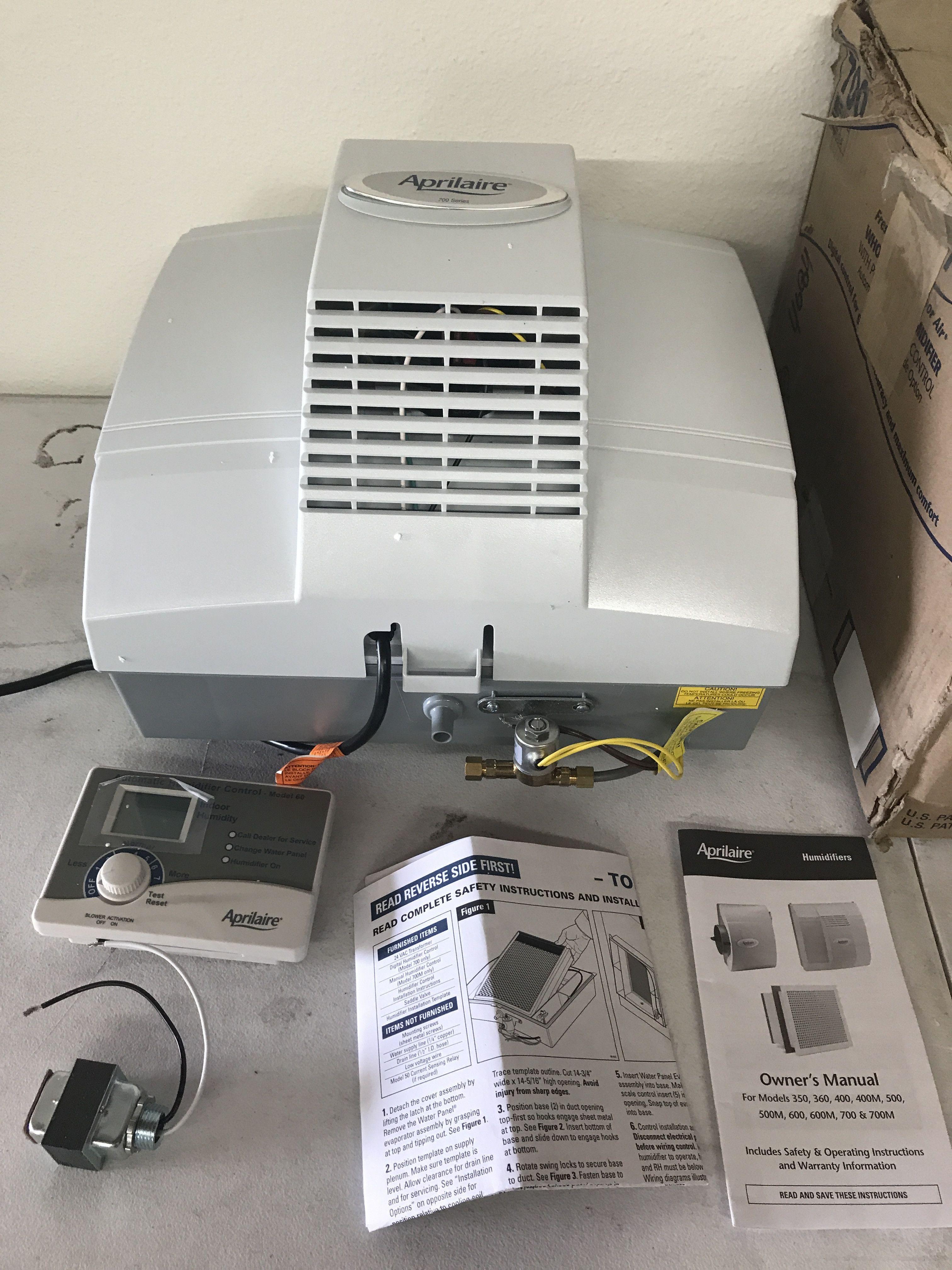 aprilaire 700 automatic humidifier [ 3024 x 4032 Pixel ]