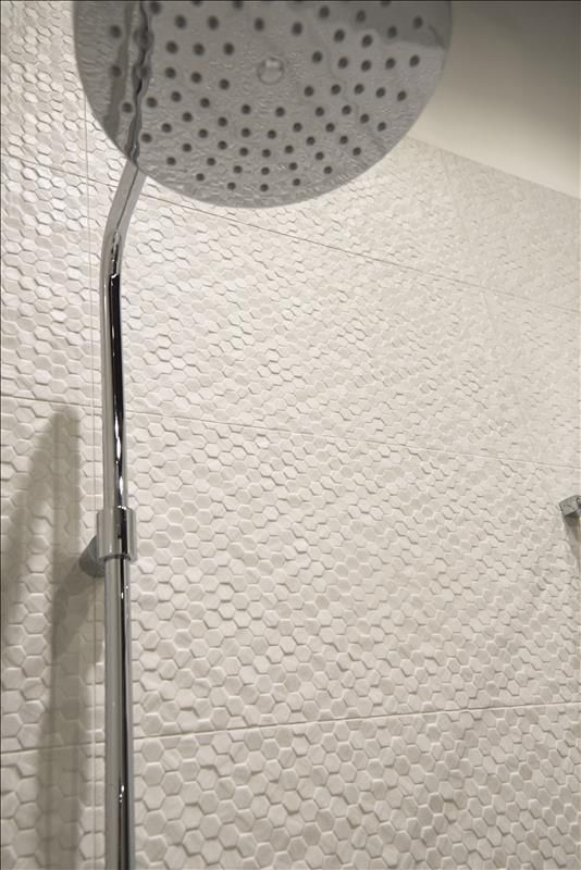 Decorative Wall Tiles Uk Geostone #esagonetta In #bianco  Stocked At #midamericatile