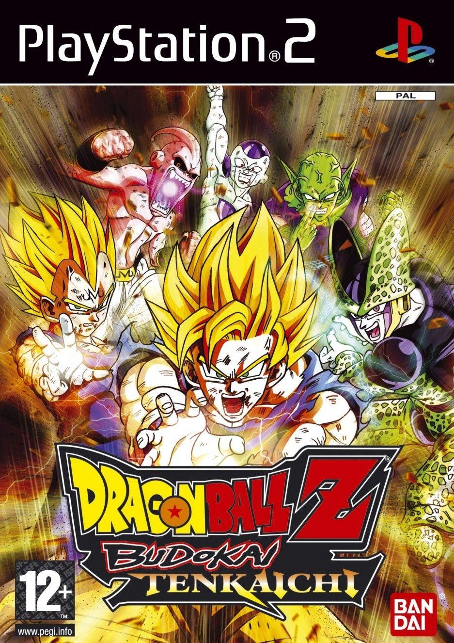 Dragon Ball Z Budokai Tenkaichi Sony Playstation 2 Dragones Dragon Ball Z Playstation 2