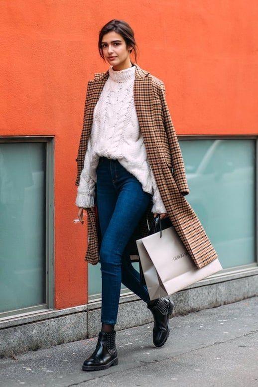Eine frische Art, Ihre Röhrenjeans diesen Winter zu tragen (Le Fashion #lefashion