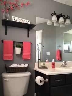 cf   cd    bathroom gray diy bathroomg also lyn guinnyguinners on pinterest rh