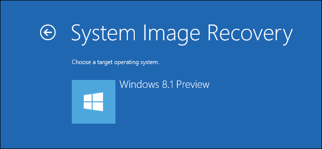 How To Create And Restore System Image Backups On Windows 8 1