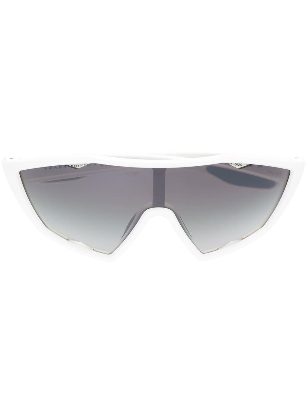 Prada Eyewear Prada Linea Rossa Sunglasses  – Farfetch