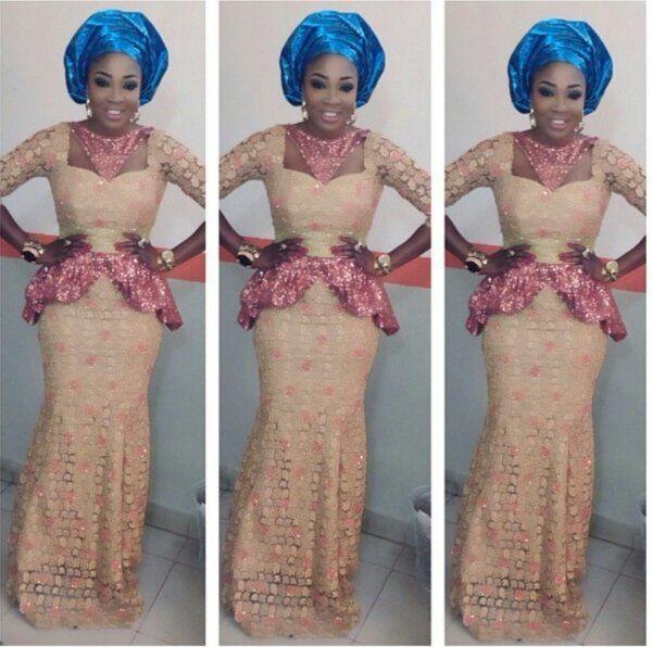 Nigerian Wedding: 8 Sizzling Hot Aso-ebi/ Wedding Guest