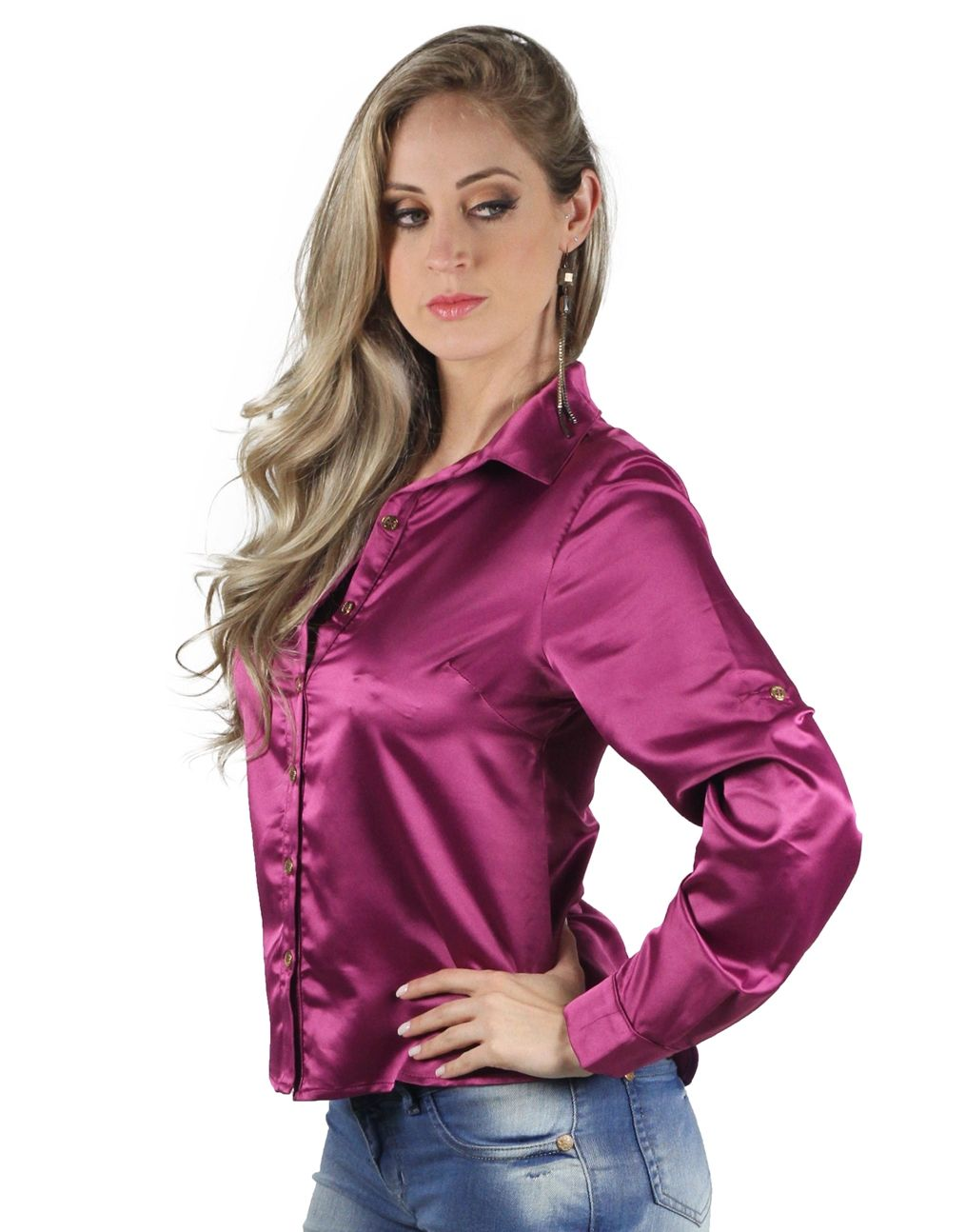 Best Lace Collar Satin Blouse Near Me And Get Free Shipping