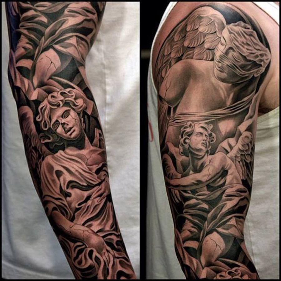Lower leg guys traditional sleeve tattoos - Tattoo Sleeve Ideas