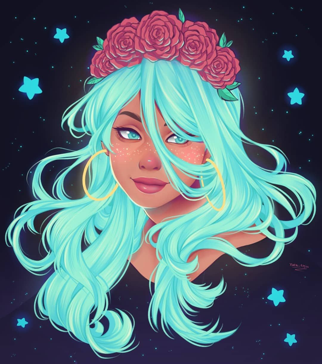My Version For Nailustra S Drawthisinyourstyle I Know It S Very Different But I Wanted To Give T In 2020 Girls Cartoon Art Girly Art Concept Art Drawing