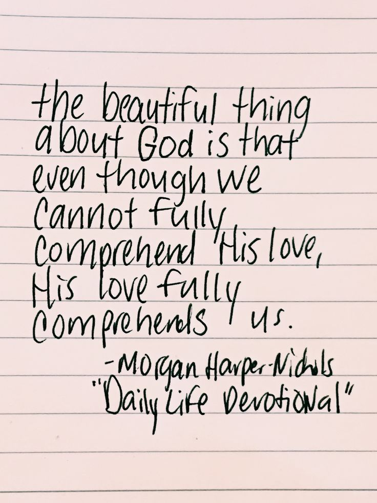 His Love Fully Comprehends Us Morgan Harper Nichols This Is