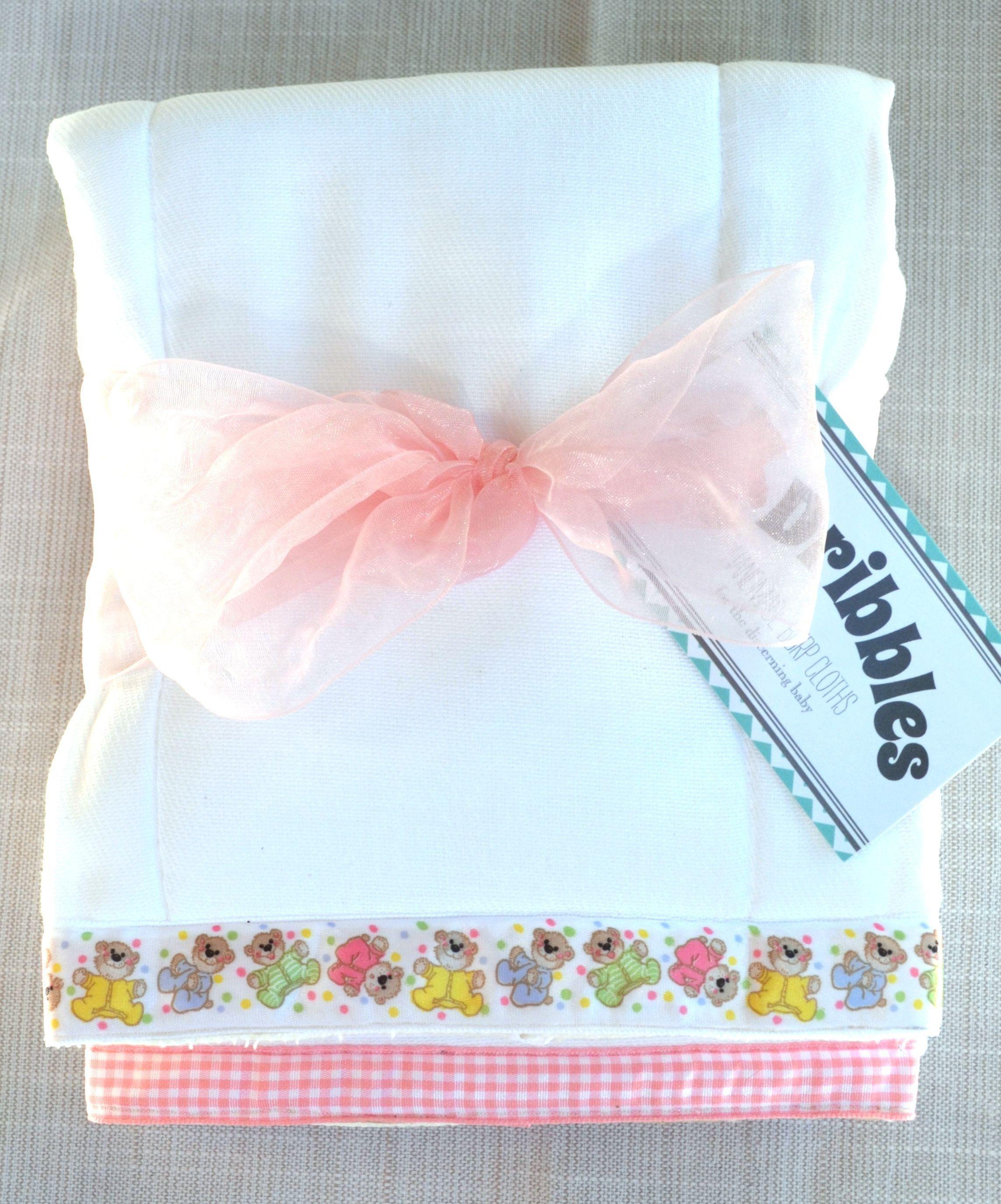 Baby Personalized Burp Cloth Teddy Bear
