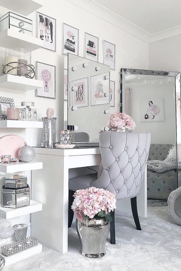 Lowboy Shelf Face Mirrors Idea White Furniture In 2020 Pinterest Room Decor