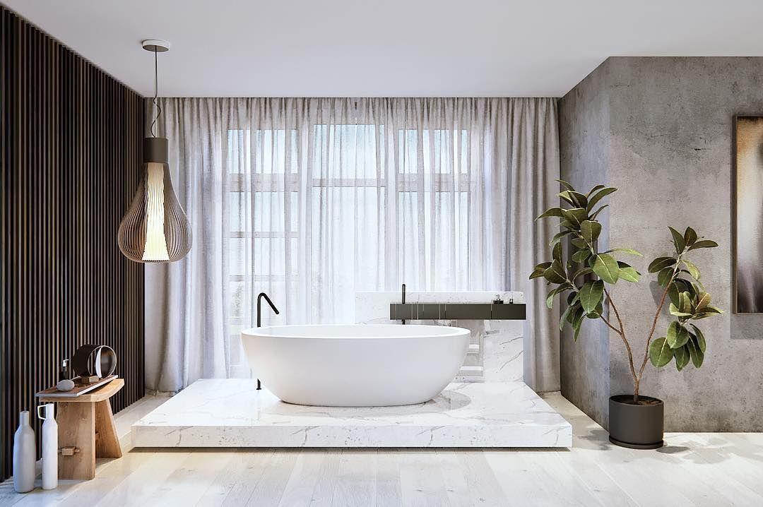 84 отметок «Нравится», 2 комментариев — Alexey Nikolashin (@slproject_architectural_bureau) в Instagram: «Новый проект. Интерьеры таунхауса в поселке Park avenue. Ванная комната. #slproject #parkavenue…»