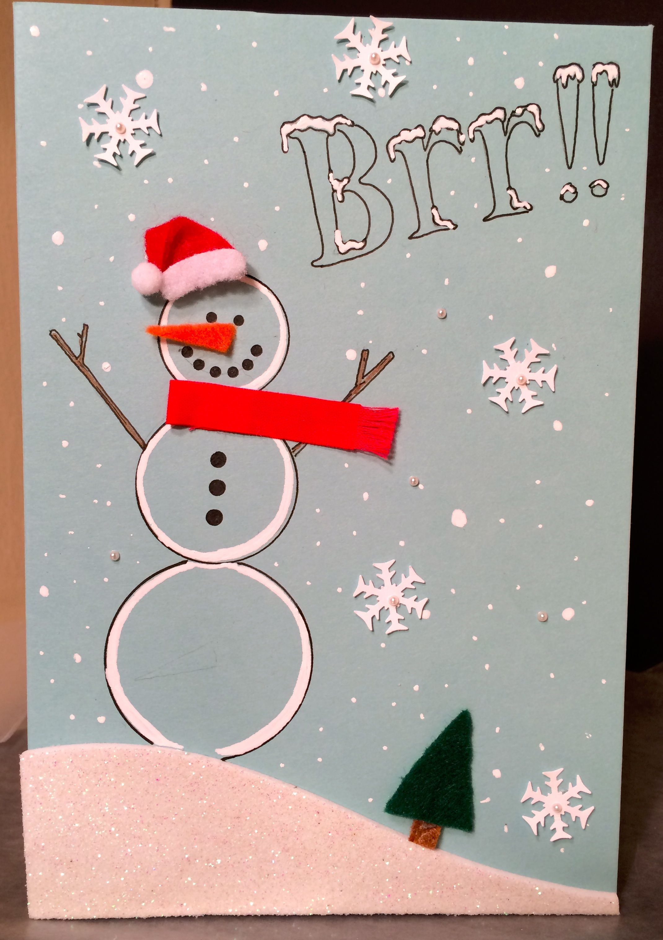 Handmade Christmas Card By Sonya Fedele | Handmade Christmas cards ...